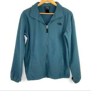 Boys North Face Fleece Zip Up Sweater